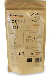 Kawa 100% Arabica Mielona Brazylia Bio 200 G - Ale Eko Cafe