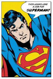 Looks Like A Job For Superman - plakat