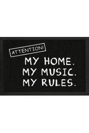 M�j Dom, Moja Muzyka, Moje Zasady. - wycieraczka