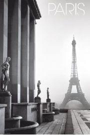 Paryż Wieża Eiffla - plakat