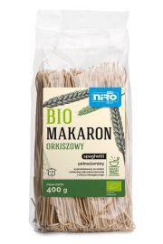 Makaron (Orkiszowy Razowy) Spaghetti Bio 400 G - Niro