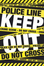 Zakaz Wst�pu - Miejsce Zbrodni - plakat