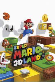 Nintendo Super Mario Świat 3D - plakat