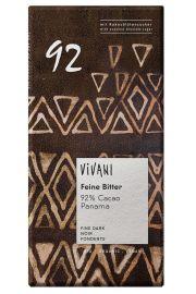 Czekolada Gorzka 92% Kakao Bio 80 G - Vivani