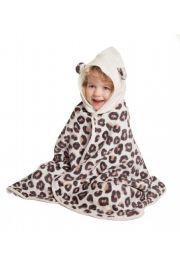 Cuddledry Dziecięcy Bambusowy Ręcznik, Panterka, Cuddlepaw