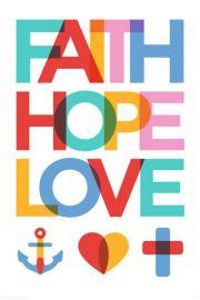 Wiara Nadziej Miłość - plakat