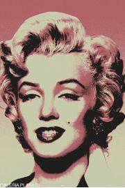 Marilyn Monroe Popart - plakat