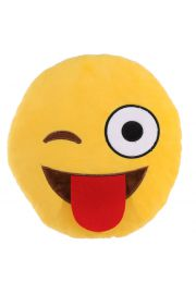 Pluszowa maskotka emotikona - Wyciągnięty język
