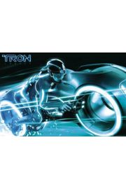 Tron - Wyścig - plakat