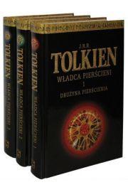 Pakiet Władca Pierścieni 3 Tomy: Drużyna pierścienia, Dwie wieże, Powrót króla