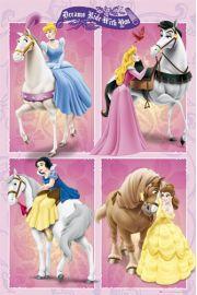 Disney Princess - Ksi�niczki na Koniu - plakat