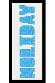 HOLIDAY - Rama drewniana czarna 76,5x30,5 cm