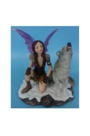�nie�na Wr�ka z wyj�cym wilkiem