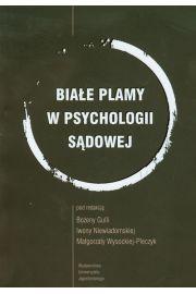 Białe plamy w psychologii sądowej