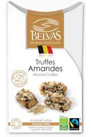 Belgijskie Czekoladki Truffle Z Migda�ami Bezglutenowe Fair Trade Bio 100 G - Belvas