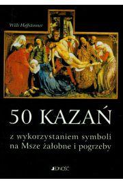 50 kazań z wykorzystaniem symboli na msze żałobne i pogrzeby