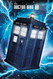 Doctor Who Tardis - plakat