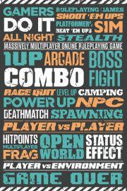 Grać w Gry - plakat