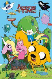 Pora na Przygod� Domek. Adventure Time - plakat