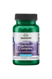 Swanson Triple Magnesium Complex (Kompleks 3 Magnezów) 30 kaps.