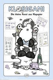Sheepworld Klorigami - zabawny plakat