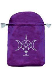 Satynowy woreczek Wicca (na karty tarota)
