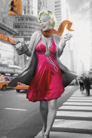 Marilyn Monroe Zakupy - plakat