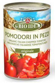 Pomidory Krojone Bez SkÓry (Puszka) Bio 400 G - La Bio Idea