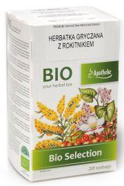 Herbatka Gryczana Z Rokitnikiem  Bio 20 X 1,5 G - Apotheke