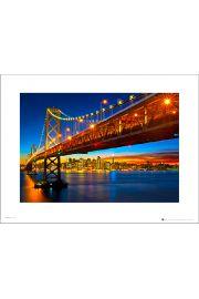 San Francisco Bay Bridge - art print