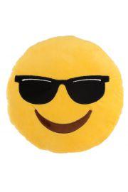 Pluszowa maskotka emotikona - Ciemne okulary