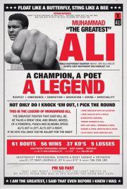 Muhammad Ali - Boks - retro plakat