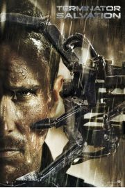 Terminator Ocalenie Salvation Christian Bale - plakat