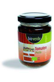 Pesto Z Suszonymi Pomidorami I Bazylią Vegan Bio 125 G - Bio Verde