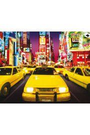 Nowy Jork Times Square Taks�wki - plakat