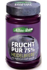 Mus Jagodowy (75% OwocÓw) Bio 250 G - Allos