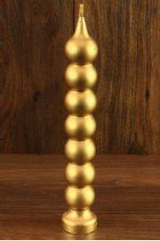 Świeca siedem węzłów złota z wosku