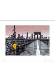 Assaf Frank Brooklyn Bridge Umbrella - art print