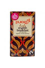 PUKKA Lively English Breakfast, 20 saszetek