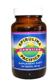 Spirulina Hawajska Pacifica (180 tabletek) - suplement diety Kenay