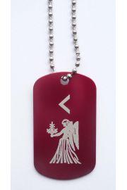 Runa dla Panny z 23 sierpnia - 3 wrze�nia, czerwona