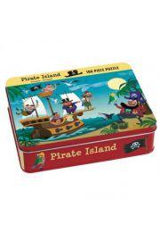 Mudpuppy, Puzzle 100 elementów Piraci