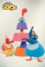 Twirly Woos Ciasto - plakat