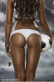 Piękna Strona Piłki Nożnej - Gwizdek - Akt - plakat