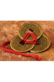 Monety trzy wiązane śr. 2 cm