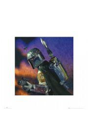 Gwiezdne Wojny Star Wars boba fett - reprodukcja