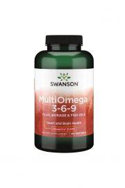 Swanson MultiOmega 3-6-9 120 kaps.