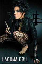 Lacuna Coil Cristina - Strzykawka - plakat