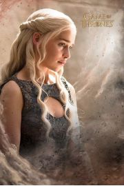 Gra o Tron Daenerys Targaryen - plakat