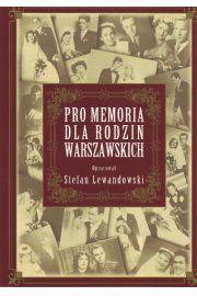 Pro memoria dla rodzin warszawskich
